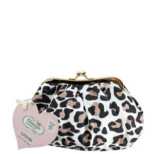 The Vintage Cosmetic Company Cosmetics Clutch Bag - Leopard Print