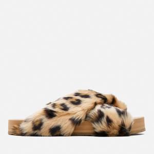 TOMS Women's Susie Vegan Eva Slippers - Natural Cheetah