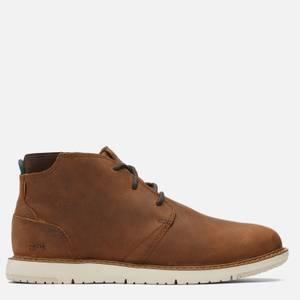 TOMS Men's Navi Waterproof Chukka Boots - Brown