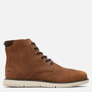 TOMS Men's Hillside Water Resistant Lace Up Boots - Brown