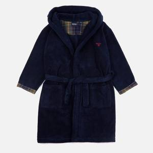Barbour Boys' Lucas Dressing Gown - Navy
