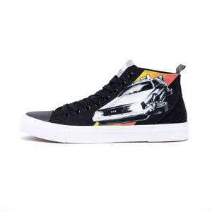 Akedo x Back To The Future Black Adult Signature High Top
