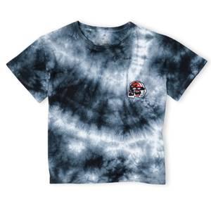 T-Shirt Cropped Cruella Femme - Tie Die Noir