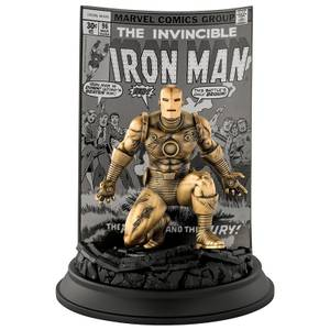 Royal Selangor Limited Edition Gilt The Invincible Iron Man #96 (200 Pieces Worldwide)