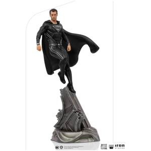 Iron Studios Zack Snyder's Justice League Art Scale Statue 1/10 Superman Black Suit 30 cm