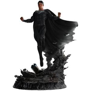 Weta Workshop Zack Snyder's Justice League Statue 1/4 Superman Black Suit 65 cm