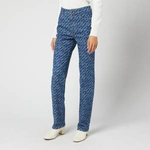 See by Chloé Women's Signature Denim Jeans - Deep Ocean