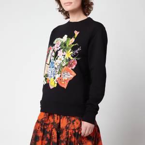 Golden Goose Women's Sweatshirt Athena Regular Crewneck - Black