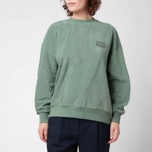 Golden Goose Women's Sweatshirt Delvina Loose Crewneck - Mylar