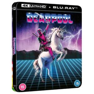 Marvel Studio's Deadpool - Zavvi Exclusive 4K Ultra HD Lenticular Steelbook (Includes Blu-ray)