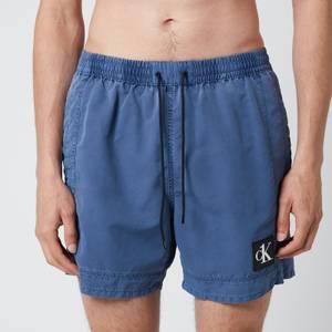 Calvin Klein Men's Meduim Drawstring Swim Shorts - Black Iris