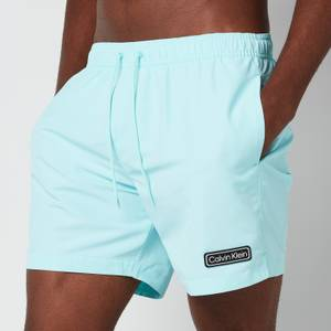 Calvin Klein Men's Medium Drawstring Swimshorts - Tanager Turquoise