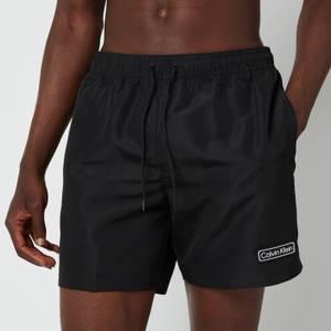 Calvin Klein Men's Medium Drawstring Swim Shorts - Black