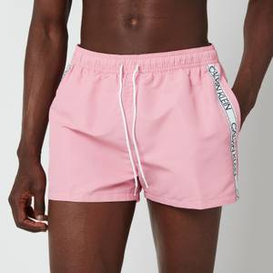 Calvin Klein Men's Short Drawstring Swim Shorts - Lovely Blush