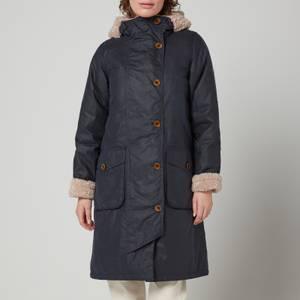 Barbour Women's Peregrine Wax Jacket - Royal Navy