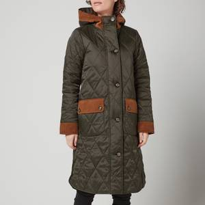Barbour Women's Mickley Quilted Jacket - Sage/Ancient