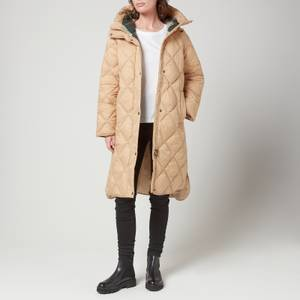 Barbour Women's Sandyford Quilted Jacket - Dk Stone/Ancient