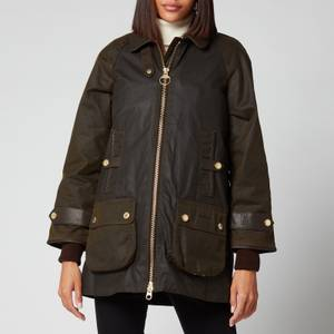 Barbour Women's Norwood Wax Jacket - Olive/Classic