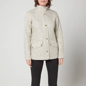 Barbour Women's Cavalry Polar Quilted Jacket - Pearl/Rustic