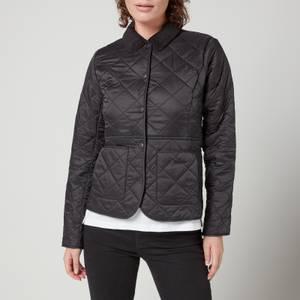Barbour Women's Deveron Polar Quilted Jacket - Black