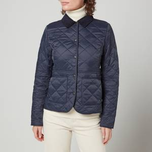 Barbour Women's Deveron Polar Quilted Jacket - Navy