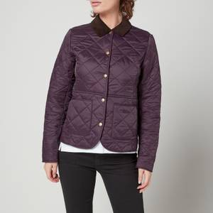 Barbour Women's Deveron Polar Quilted Jacket - Elderberry