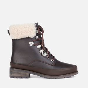 EMU Australia Women's Okab Waterproof Leather Lace Up Boots - Espresso