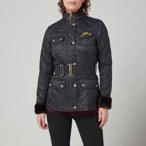 Barbour International Women's Modern International Polarquilt Jacket - Black