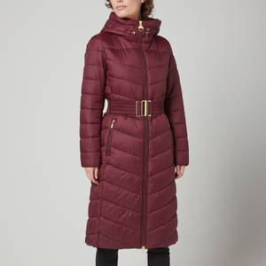 Barbour International Women's Lineout Quilted Jacket - Merlot