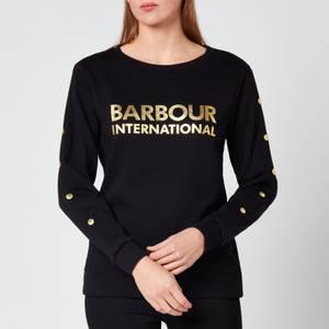 Barbour International Women's Reine Overlayer - Black
