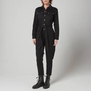 Barbour International Women's Solitude Jumpsuit - Black