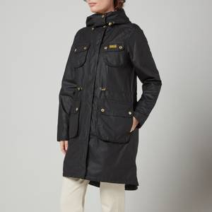Barbour International Women's Monza Wax Jacket - Black