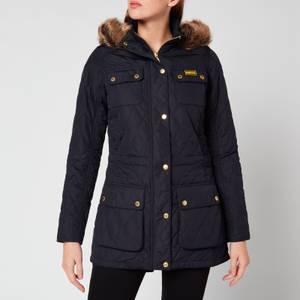 Barbour International Women's Enduro Quilted Jacket - Navy
