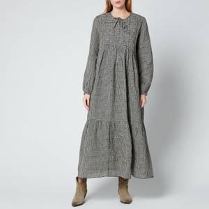 Skall Studio Women's Frances Dress Check - Black/Beige