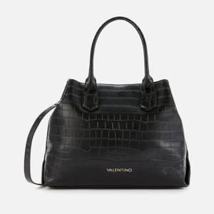Valentino Bags Women's Juniper Croco Tote Bag - Black