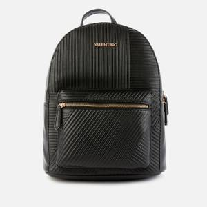 Valentino Bags Women's Plane Quilted Backpack - Black