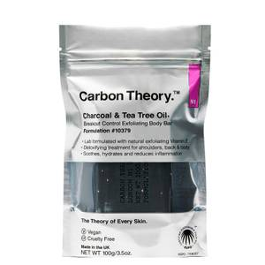 Carbon Theory Breakout Control Exfoliating Body Bar 100g