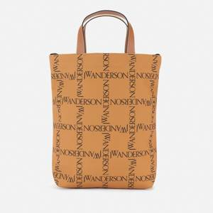 JW Anderson Women's Recycled Shopper Tote Bag - Mustard/Petrol