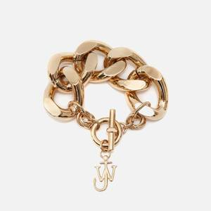 JW Anderson Women's Oversized Chain Bracelet - Gold