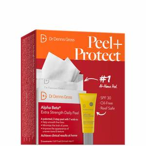 Dr Dennis Gross Skincare Peel and Protect Set