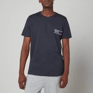 BOSS Bodywear Men's Relaxed Fit Chest Logo T-Shirt - Dark Blue