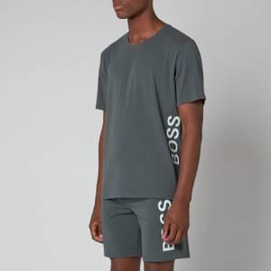 BOSS Bodywear Men's Identity T-Shirt - Dark Green