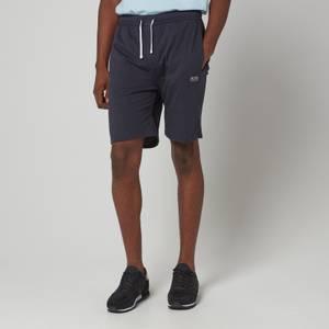 BOSS Bodywear Men's Stripe Shorts - Dark Blue