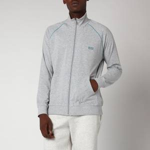 BOSS Bodywear Men's Regular Fit Jacket - Grey