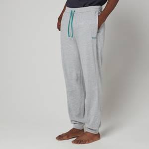 BOSS Bodywear Men's Cuffed Jogging Bottoms - Grey