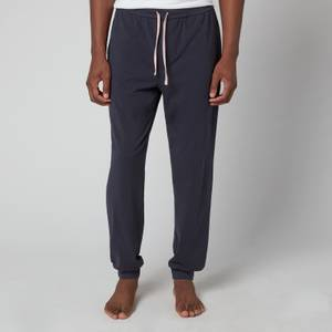 BOSS Bodywear Men's Cuffed Sweatpants - Blue