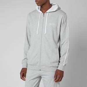 BOSS Bodywear Men's Authentic Hooded Jacket - Medium Grey