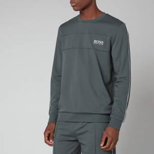 BOSS Bodywear Men's Tracksuit Sweatshirt - Dark Green
