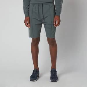 BOSS Bodywear Men's Tracksuit Shorts - Dark Green