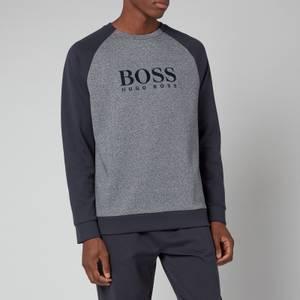 BOSS Bodywear Men's Contemporary Sweatshirt - Dark Blue